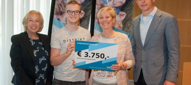 Uitreiking Schipholfonds